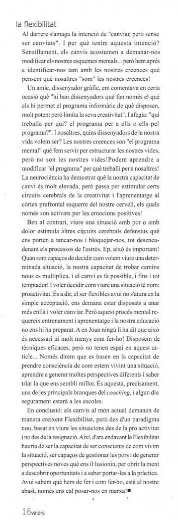 Revista Valors Gener-2011 Entrevista cont 001
